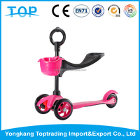 2016 quick hot sale 3 in 1 scooter flicker scooter for children