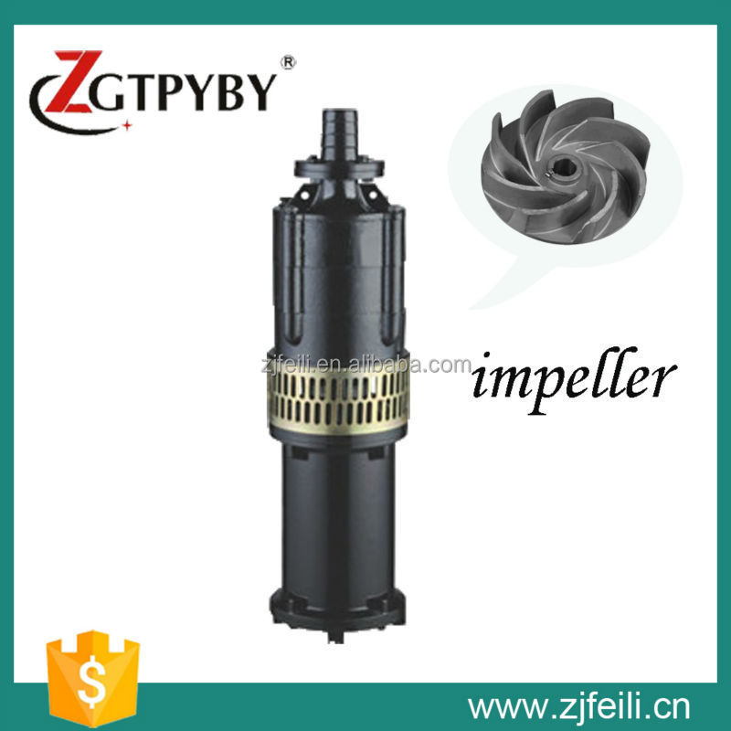 vertical oil filled electric motor water pump for farm irrigation