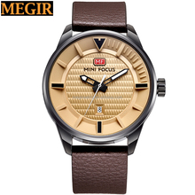 MINI FOCUS high quality superior japan movt watch top watch brands for men