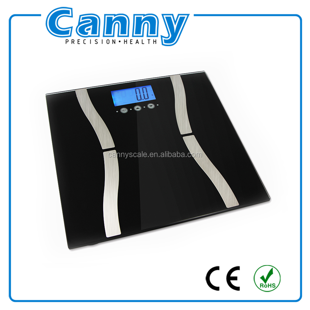 Bluetooth scale body fat analyzer CF570 measure 8 parameters with low cost price for Android 4.3 - ISO 7.0- Bluetooth 4.0
