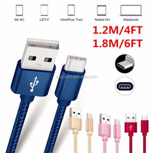 Braided USB 3.1 Type-C Data Sync Charger USB-C Cable