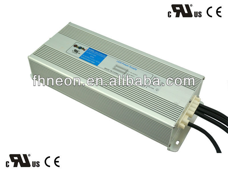 200W 12V UL Class 2 LED Switching Power Supply Manufacturer