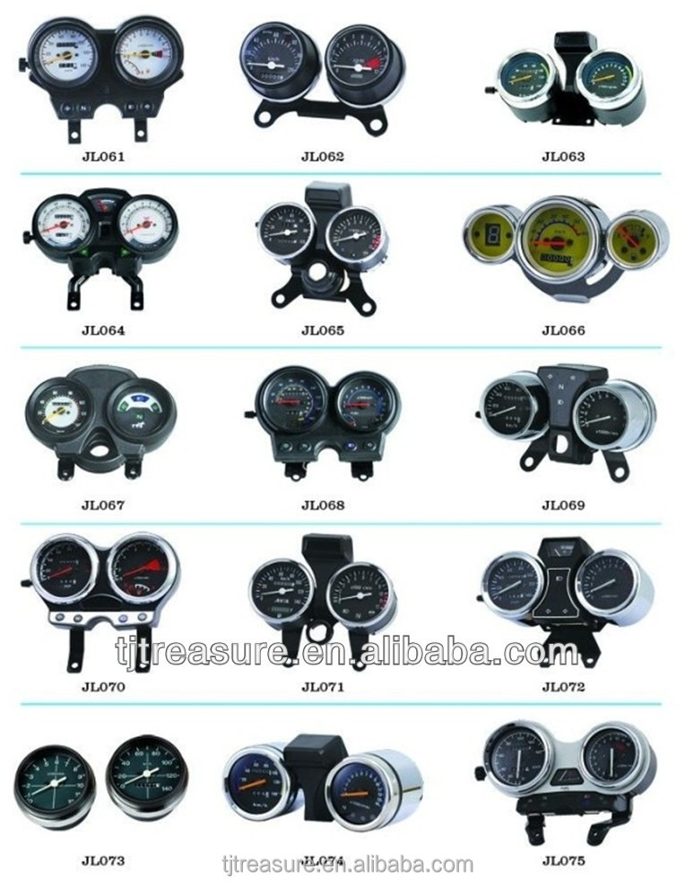 Hot sale in Nerigria market speedometer/ speed clock casing CGL 125