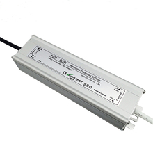 Aluminum shell constant voltage IP67 12v 80w led power supply with CE FCC Listed