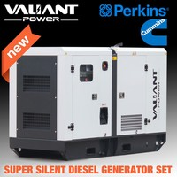 Great engine powered Global Warranty Diesel power generator three phase 220v generator