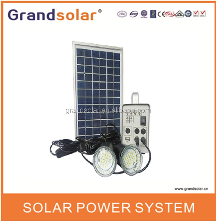 5W 220/230/240VAC 50/60HZ HOME POWER SOLAR SYSTEM