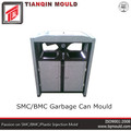 Plastic dustbin mould , plastic trash can mold ,garbage can mold supplier,in TAIZHOU ,HUANGYAN