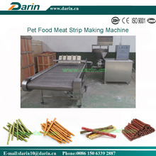 2016 Global Pet Expo Flat Munchy Strip Snacks Meat Strip Machinery