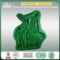 China Architectural Quality Assurance Silicone Molds For Gypsum 3D Relief