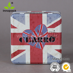 square customized design tin box food/gift box / container
