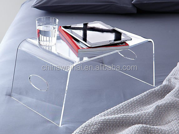 Clear Acrylic Bedside Table
