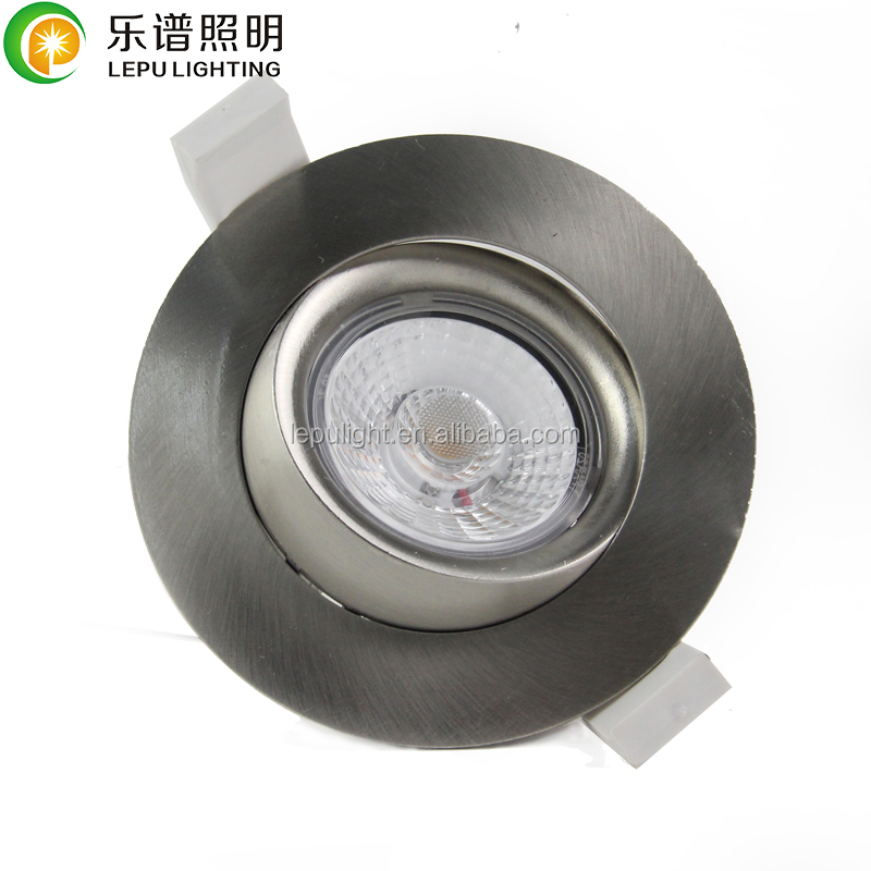 CE Rohs RA92 CCT dimming 2000k-2800k,quick install surface downlight dimmable