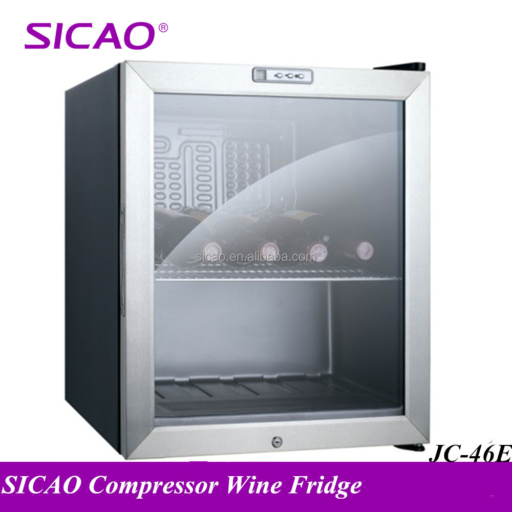 High quality drinks mini refrigerators home bar fridge galss door energy drink mini fridge