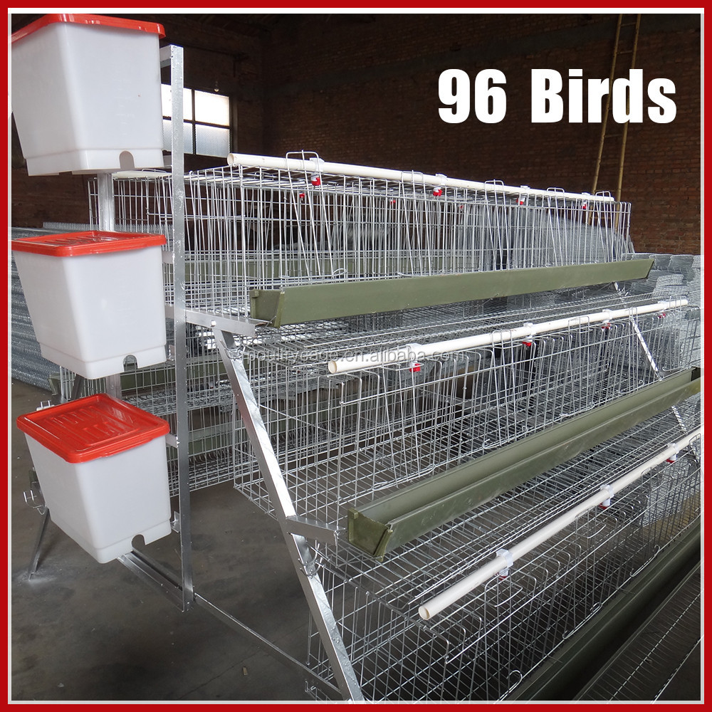 Folding Layer Chicken Battery Cages (Chicken Cage Guangzhou / Yiwu)