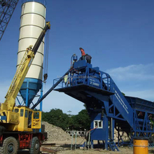 High Quality UTM60 Central Mix Mobile Concrete Batching Plant