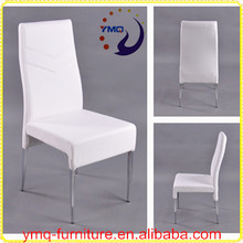 dining chair with modern design white pu alibaba furniture