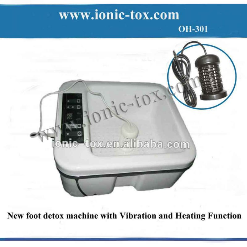 cheap detox foot spa vibrator machine with heating keep warm