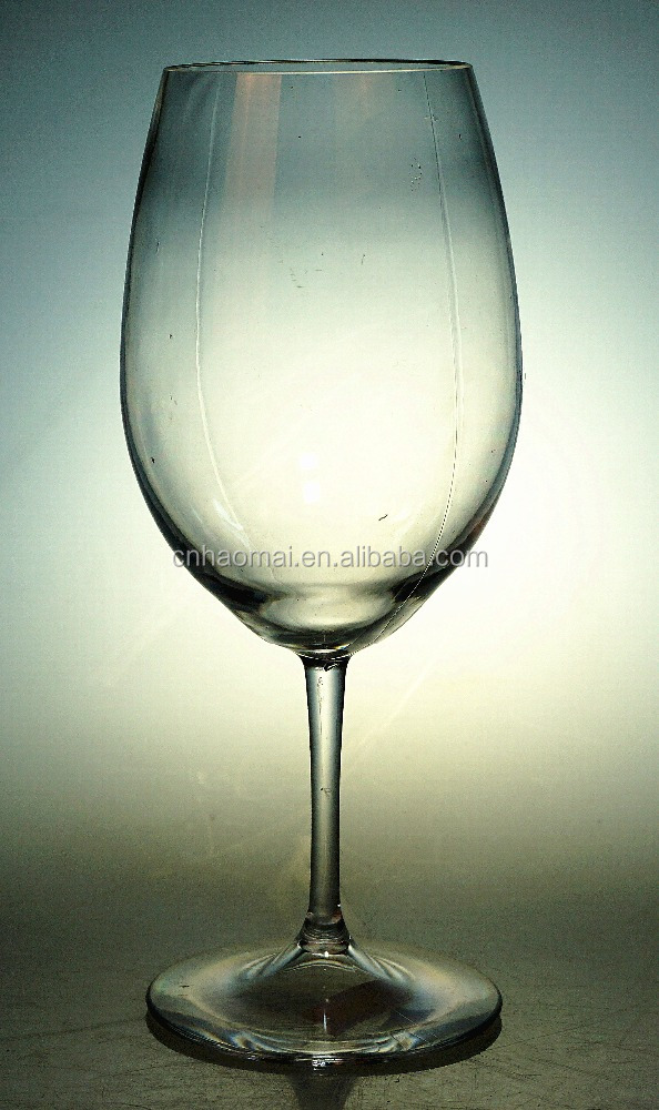 600ml plastic single wall wine glass cup decorative goblets