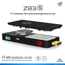 2017 New Arrival Intel Stick Z83S Z8350 MINI PC 2G 32G Z83S TV Box