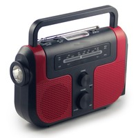 Dynamo hand-crank Portable Radio with muti function