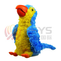 parrot toy with batteries talking dolls