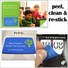 peel and stick antibacterial screen cleaner