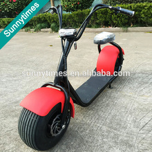 Sunnytimes newest China citycoco 2 wheels off road E-bicycle motorcycle with 18inch big wheel