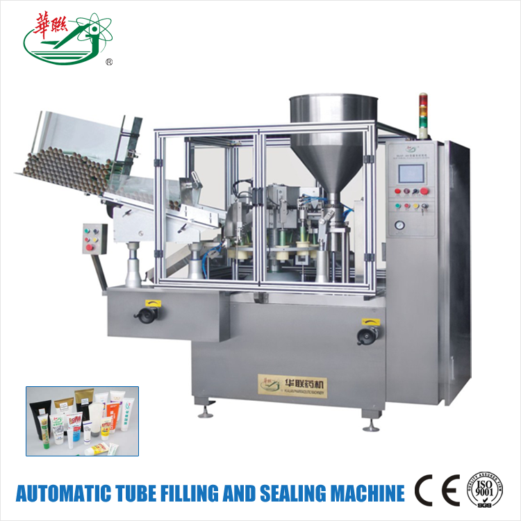 HUALIAN China Price Products Plastic Tube Filling And Sealing Machine For Cosmetic