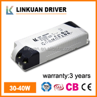 constant current led driver transformer with TUV and SAA certificate for LED downlight & panel light model LKAD006F