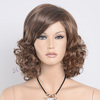 Aliexpress hair synthetic short brown wigs for 60s women