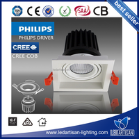 High lumen 5 years warranty Square LED Downlight