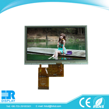 "5"" tft lcd display 800X480 e ink touch screen display"