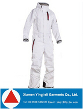 2014 High Quality and Fashion Ski Snow jumpsuit For Women White