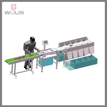 Modular Stable For Seafood Check weigher