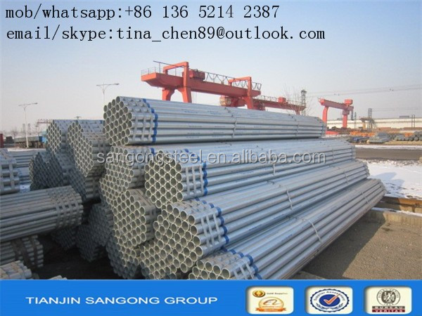 manufacturing mill test certificate steel pipe pipe mill/SS400/Q195/235/345/Hollow section steel Galvanised Steel Pipe