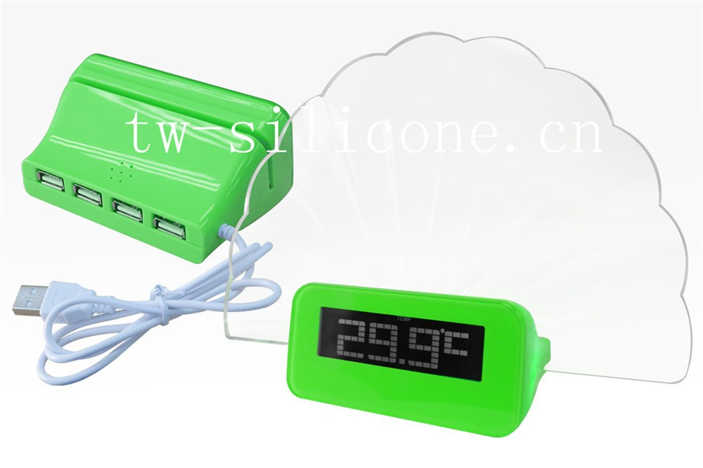 New style cool kids digital bouncing alarm clock for sale