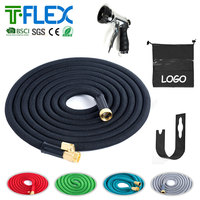 High Quality Premium Expandable Magic Flexible Garden hose Water Hose 25 50 75 100 150 FT with connector