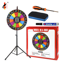 Magnetic Wheel Of Fortune Lucky Turntable Carnivals Spin Prize Wheel