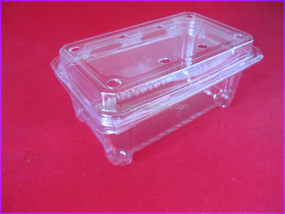 Preservated PVC plastic boxes for living lettuce