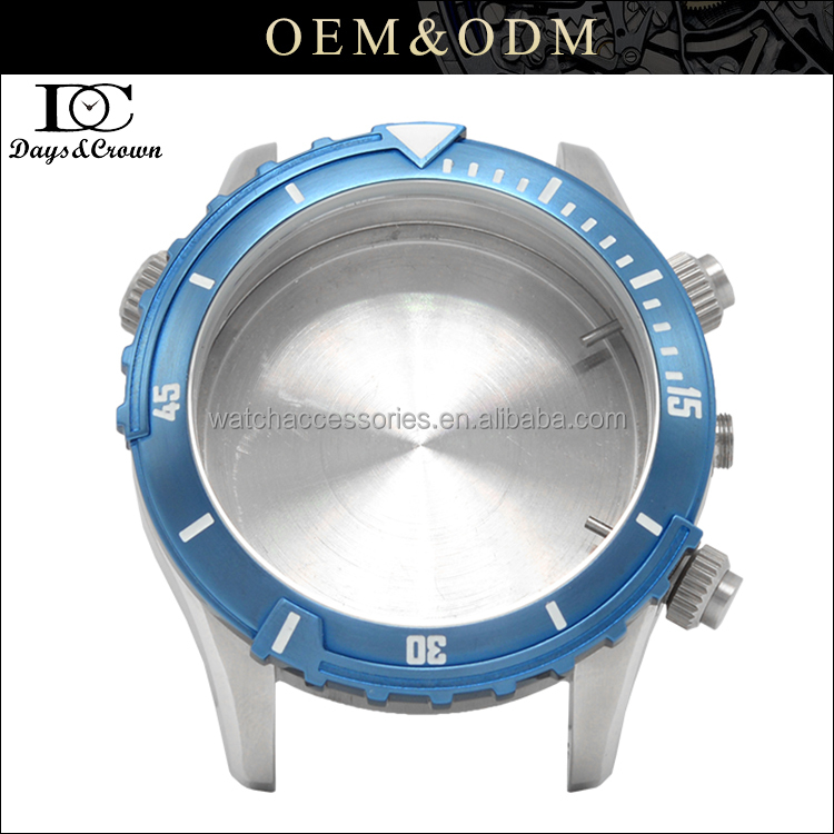 Japan movt quartz watch stainless steel case back with OEM service