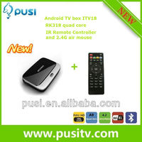 2013 Newest Arrival Mini PC Set Top Box Quad Core RK3188 Android 4.2 smart TV BOX