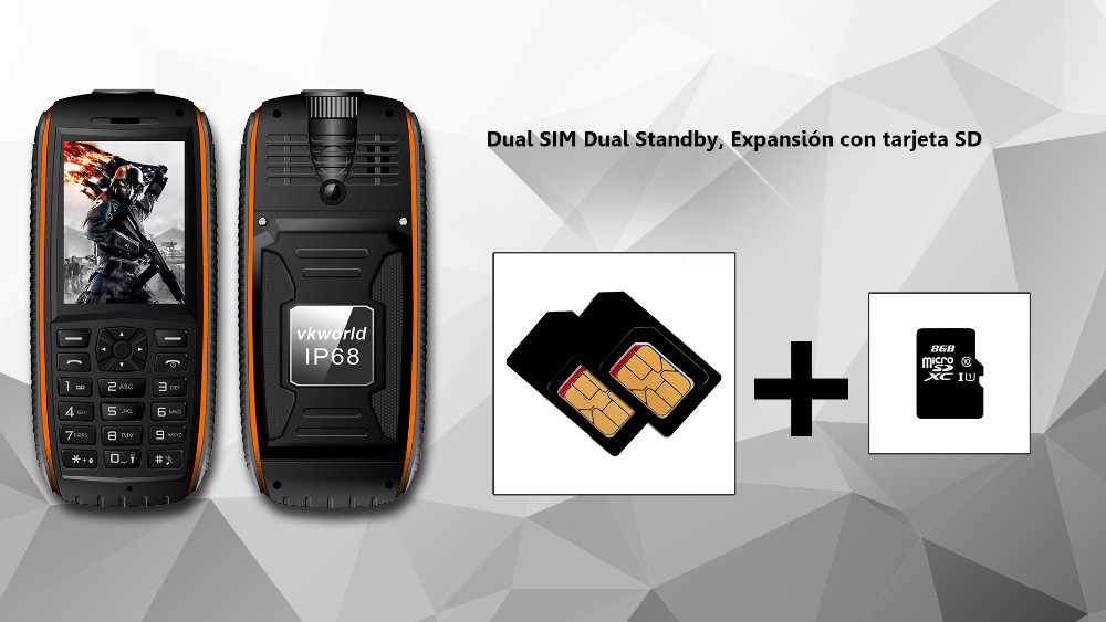 vkworld Stone V3 Max - 5300mAh IP 68 Rugged Phone Dual SIM Cards Cheap Phone New Arrival Original Wholesale Mobile Phone