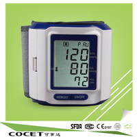Cocet best quality home health care Heart Rate cheap medical mini blood pressure monitor