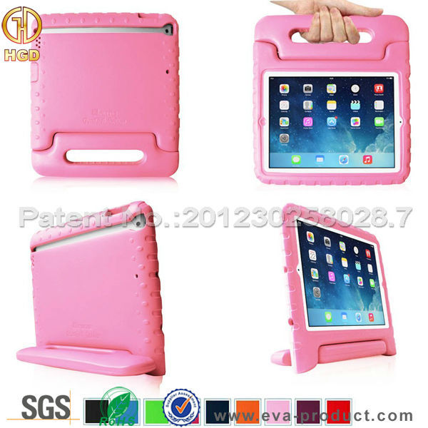 Kids Friendly Baby Safe Protective Foam Back Stand Case for iPad 2 3 4