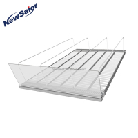 Roller Shelf System For Supermarket