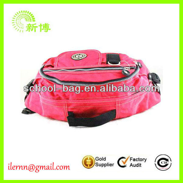 2017 fashion leather running waist packs