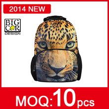 Fashion Animal Big Face School Book Campus Bag Backpack