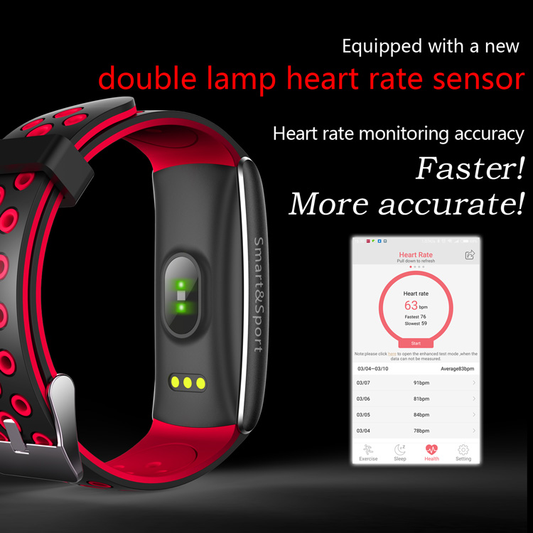 2019 color touch screen bracelet Z11 sports waterproof smart health wristband for ladies