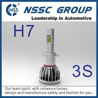 NSSC Lifetime warranty high quality 12 24 volt tuning car led headlight h7 6500k