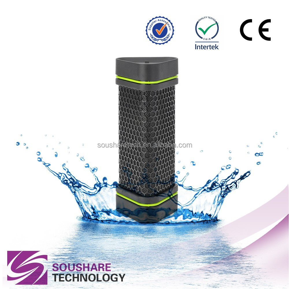 2016 hot sale wireless mini portable motorcycle waterproof bluetooth speakers for outdoors sports